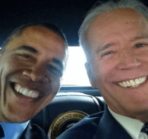 President Obama & Joe Biden Selfie