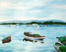 Boats in Pontevedra 2005