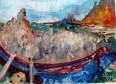 Dante's Inferno Canto III Crossing the Acheron River 2011