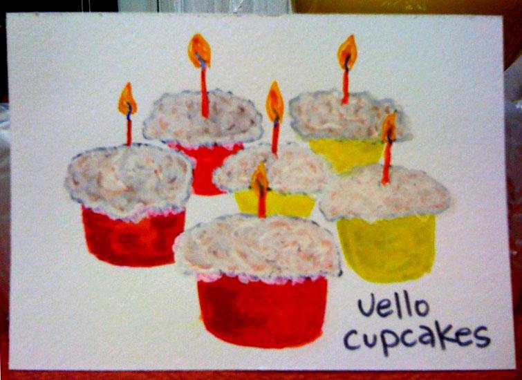 Cupcake jello