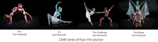Fire and Ice images by Dan and Gail Takahashi