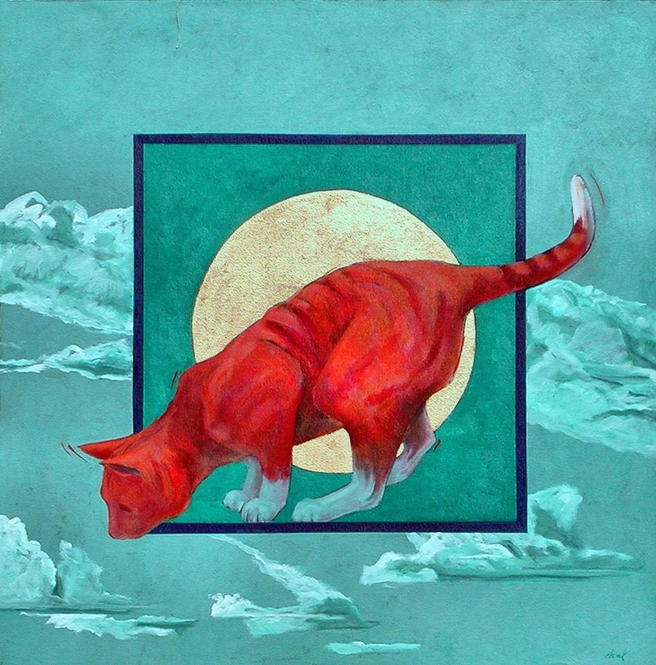 New Mexico Moon Cat