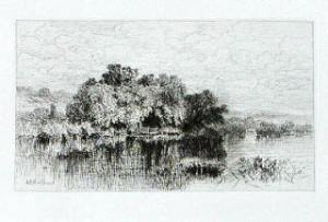 Etching by A.F. Bellows