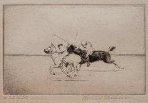 Meadowbrook Polo Ponies by Henry Ziegler