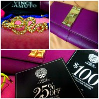 Collage of Vince Camuto Campus Hunt items