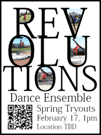 Revolutions Dance Ensemble's spring tryouts
