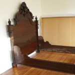 Retrofitting Our Craigslist Bed Diy Custom Antique Bed Frame
