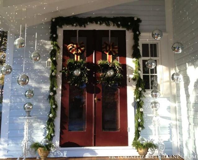 Best Innovative Christmas Decorations Porch Columns Elegant Diy Outdoor Decorating Ideas Design For Home
