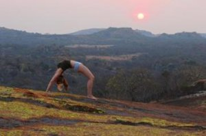 Practise your Yoga skills or learn new ones in a remote location