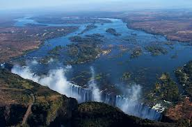 The Victoria Falls is a strong selling point of tourism in southern Africa.