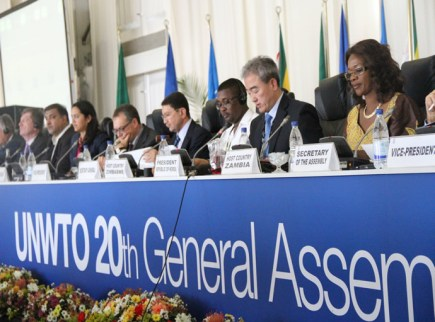 UNWTO 20th General Assembly in Session
