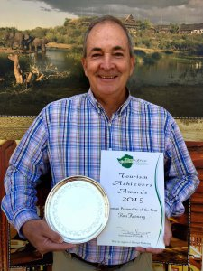 Ross Kennedy with his ZCT Award