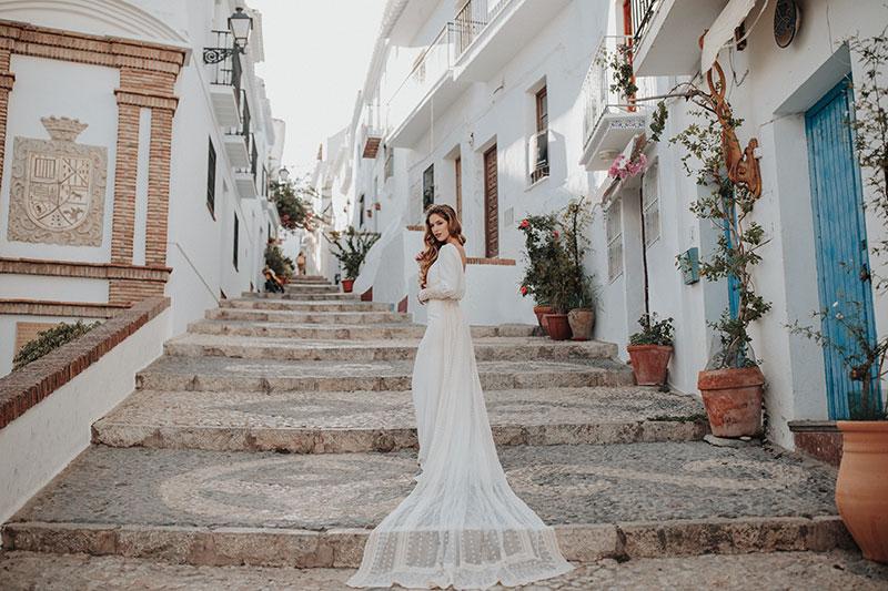 Vestido de novia a medida Pamplona