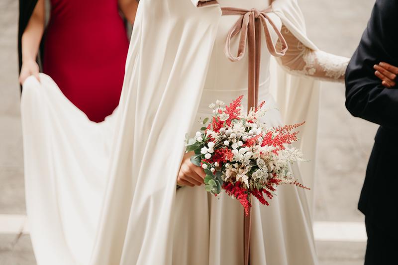 Vestidos para novias que se casan en invierno
