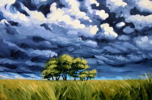 Stand Against the Storm 60x48