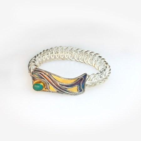 Deco Wave II, Vertebrate chain bracelet