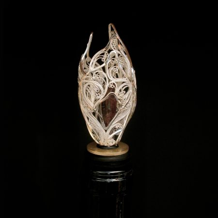 A Tulip for Bacchus, Russian filigree bottle stopper