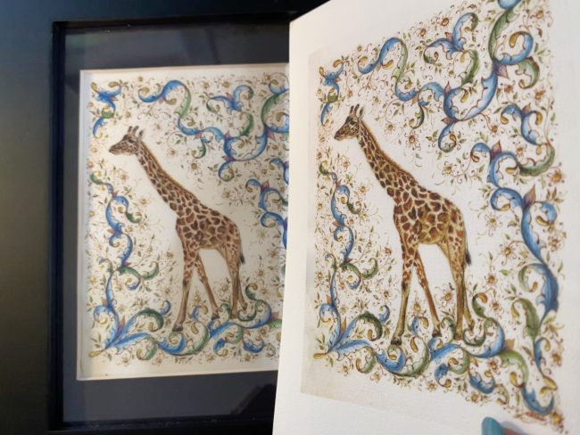 Harriet - Original and print by Victoria Lansford