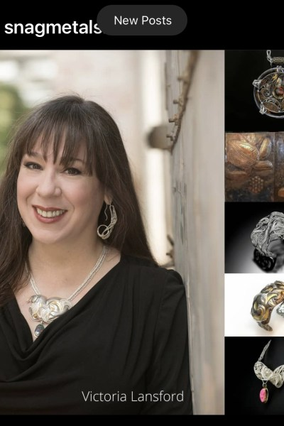 snagmetalsmith Our Member Monday artist is Victoria Lansford!