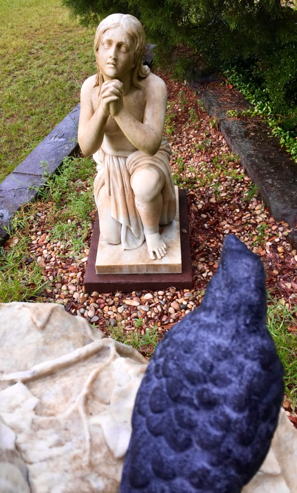 Nevermore listens to the pleading at Laurel Grove, Savannah
