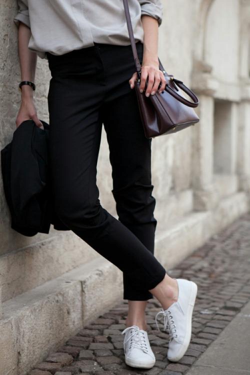 кеды, парижский базовый гардероб