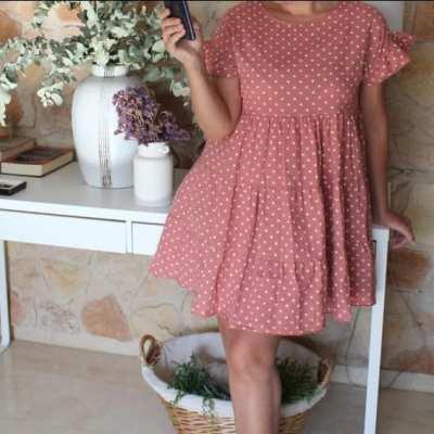 vestido lolita lunares