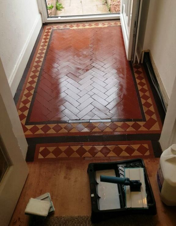 removing old paint from victorian