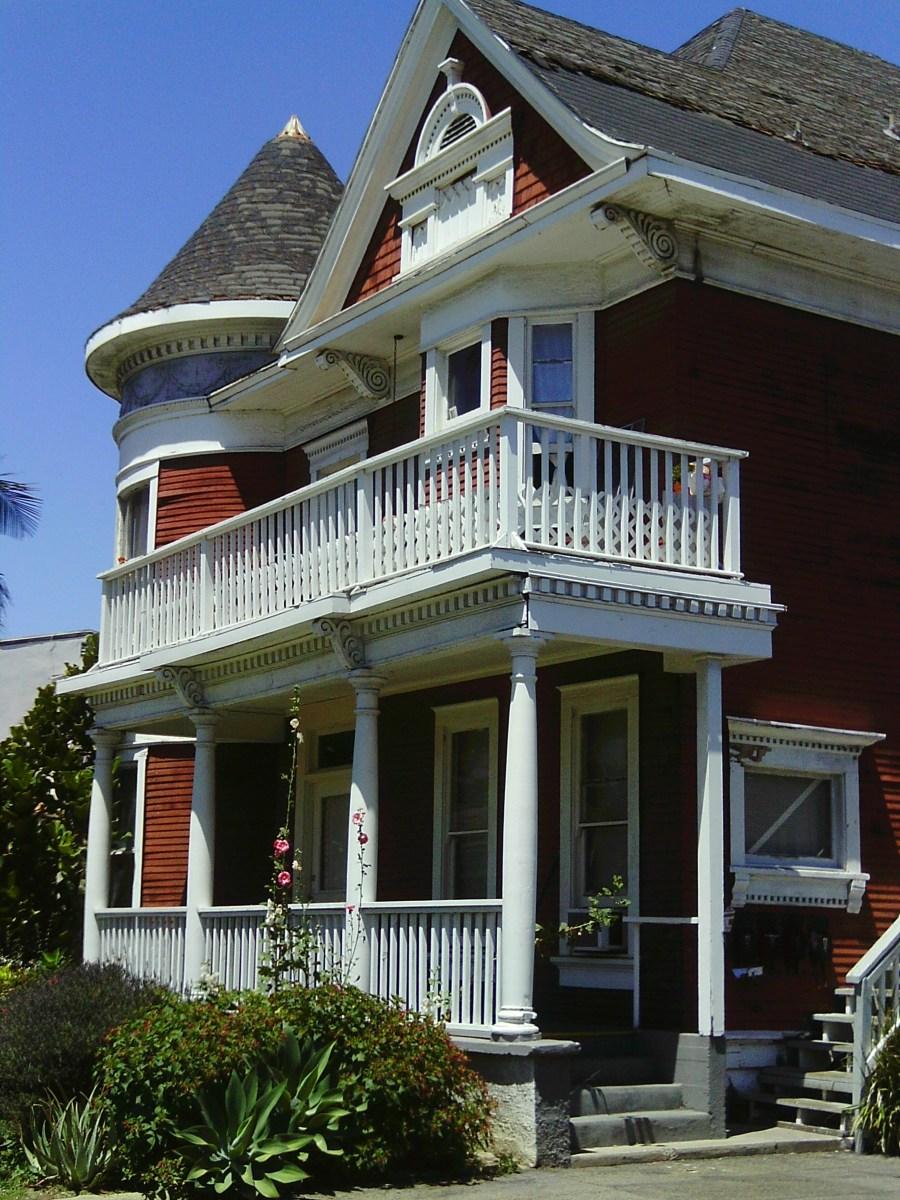 Queen Anne Vics Victorian Houses In Orange County