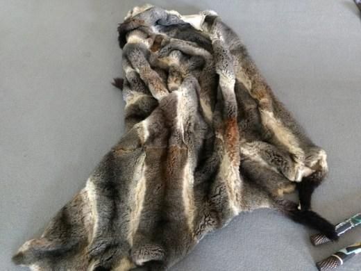 possum skin cloak