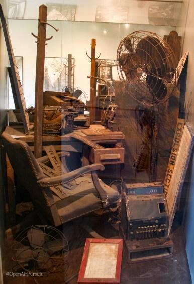 Items left behind when Ellis Island closed their doors in 1954.