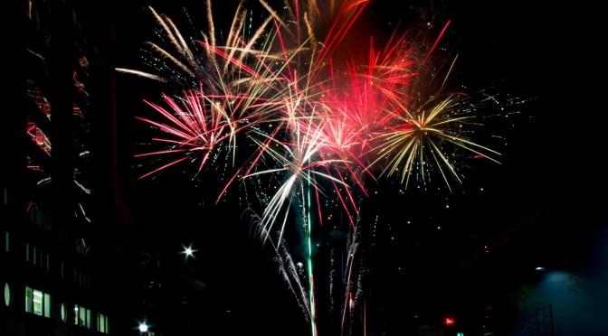Emancipation Day fireworks