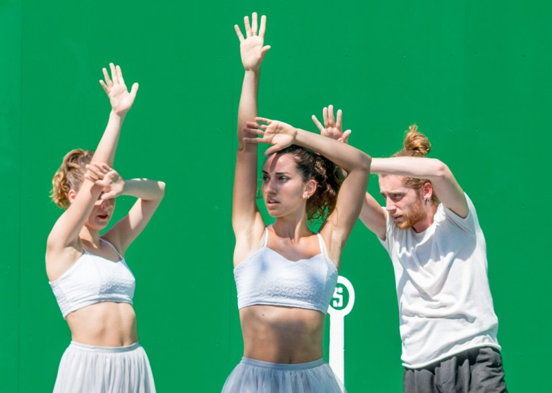 Contemporary Basque dancing