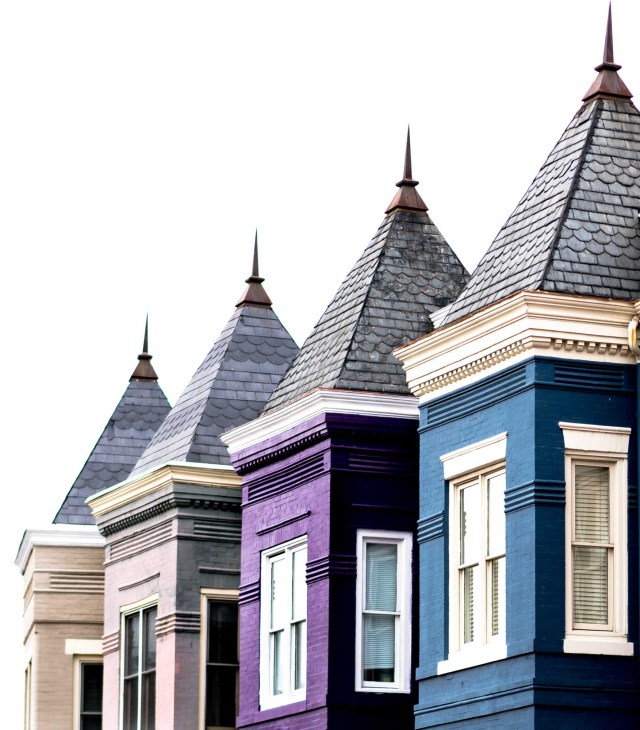Pointed roofs
