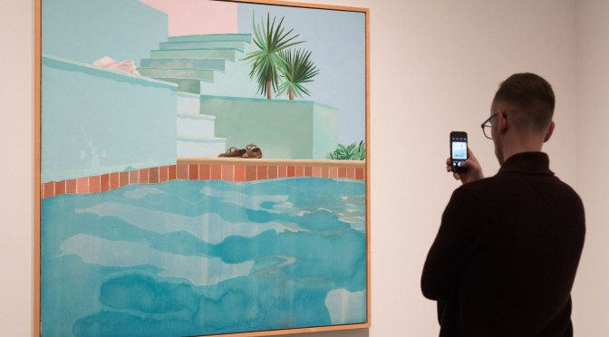 David Hockney at the Met