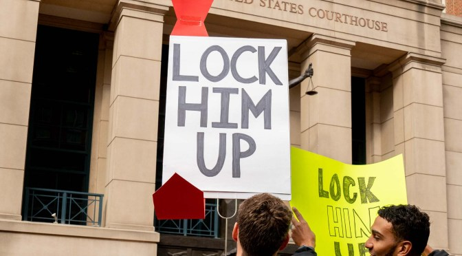 Manafort trial starts, and it's Day 16 of Occupy Lafayette Park