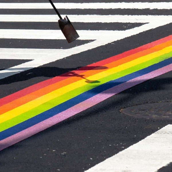 Pride stripes