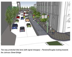 bike lane concept
