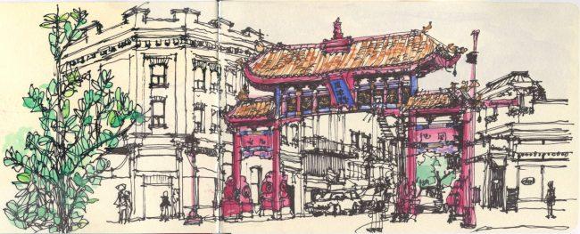 Victoria - Chinatown Gate (copyright Matthew Cencich)