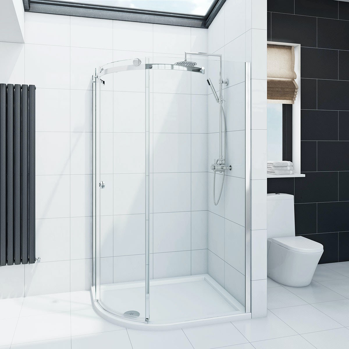 Mode Infiniti 8mm Left Handed Offset Quadrant Shower