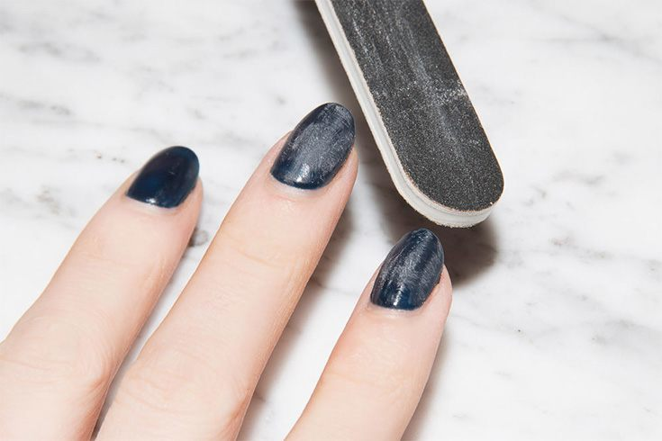 Step 2 Soak A Cotton Ball In Acetone Or Nail Polish Remover And Place It On The Fingernail Also Keep Mind Fact That Is Actually Quite