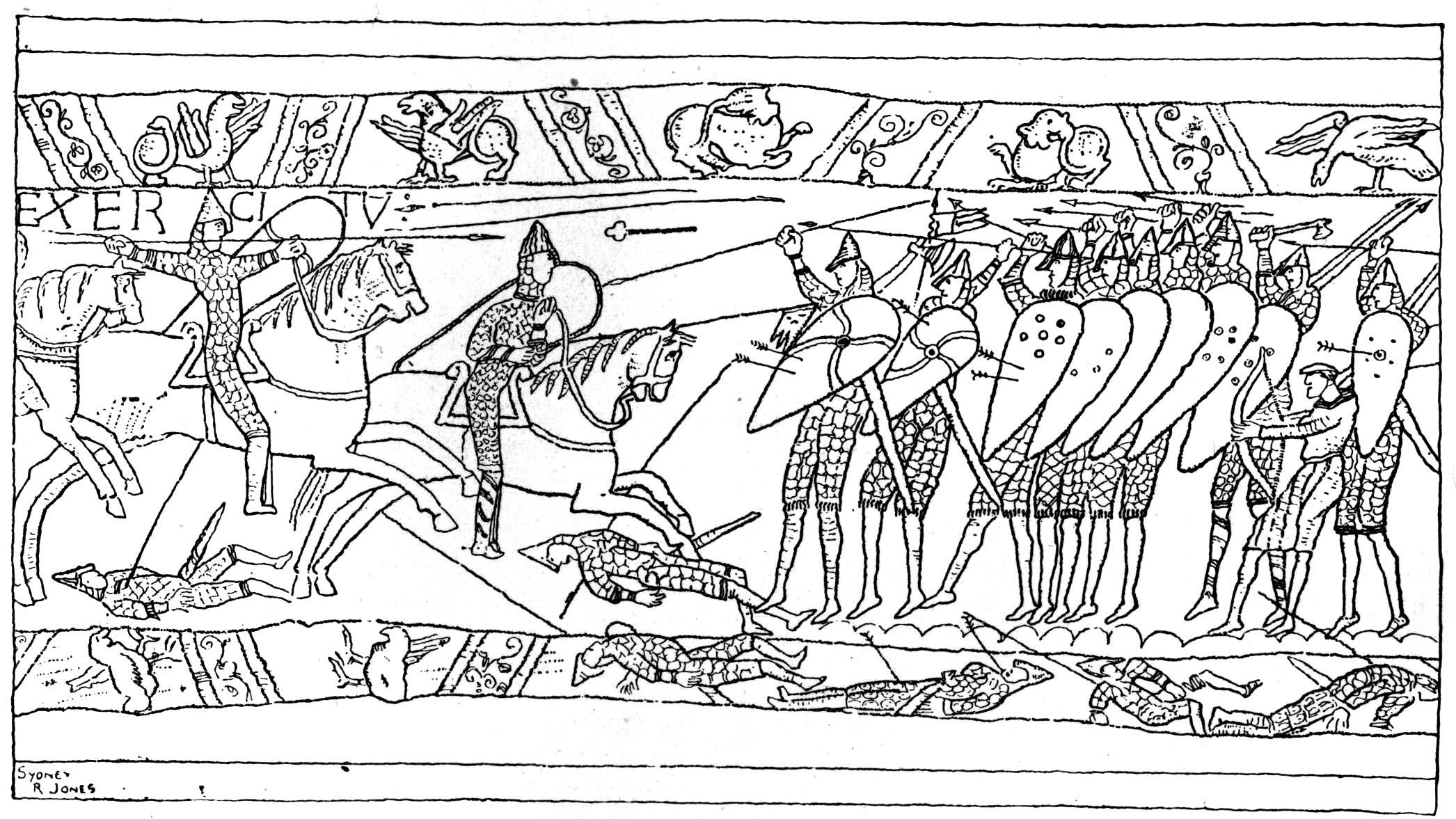 Bayeux Tapestry Pictures To Print