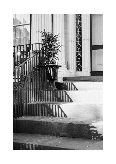 Stairway at Linden Place