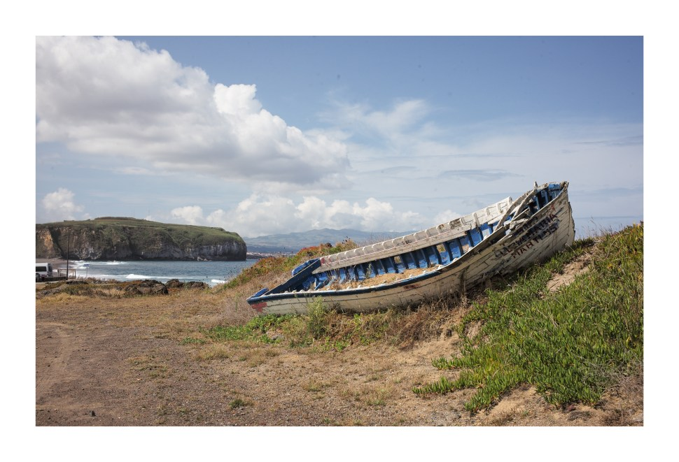 Grounded Fishing Vessel