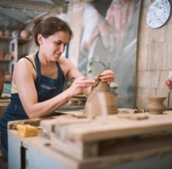A true craftswoman.