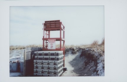 Lifeguard Stand in Winter