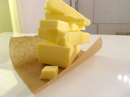 diced butter