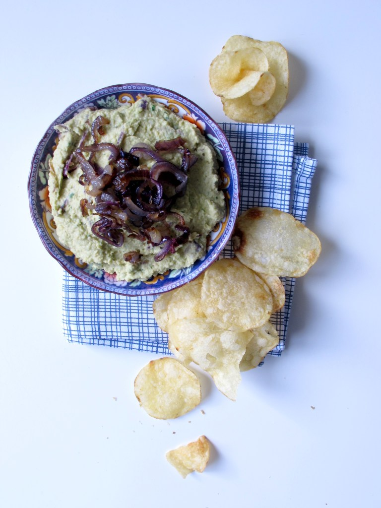 Carmelised Red Onion Hummus