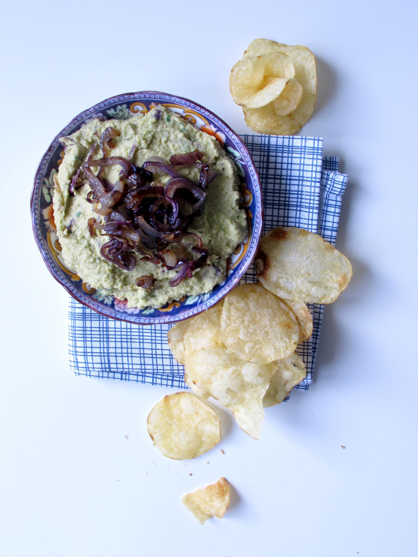 Carmelised Red Onion Hummus