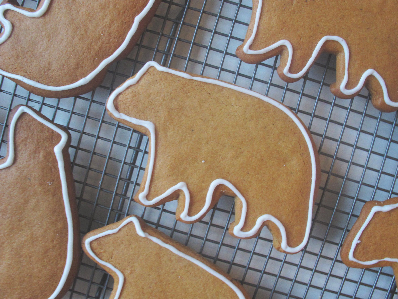 Gingerbread Polar Bears