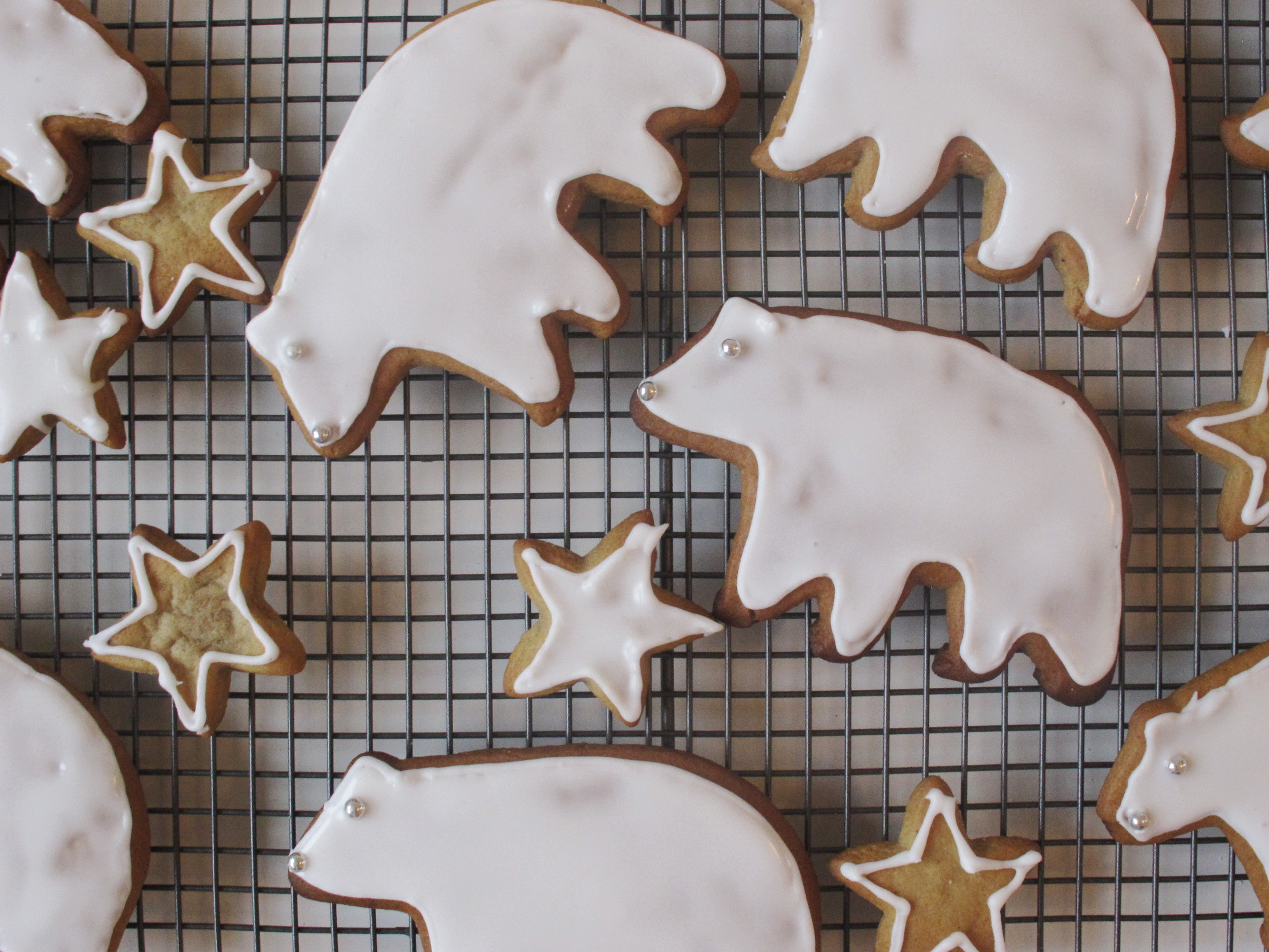 Gingerbread Polar Bears